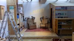 De Perifeer. In my own atelier. With chairs by Der Wexel.