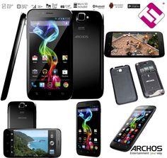 SMARTPHONE TELEFONO MOVIL LIBRE ARCHOS 50 PLATINUM PANTALLA 5  IPS QUAD CORE