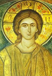 rare, wonderful icon of young Christ