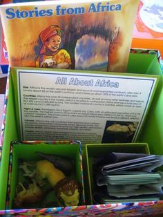 Geography Boxes for Each Continent