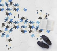 Keidos encaustic tile collection, designed by #MutDesign for #enticdesigns
