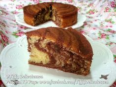 Culinary Kitchenette: Airfryer Baked Mini Zebra Butter Cake by Tiffany Koong