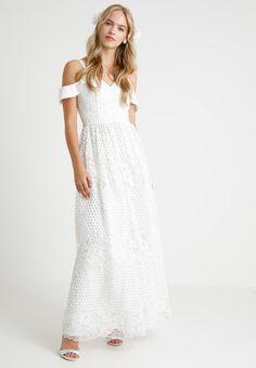 199fead8e7 Chi Chi London EBBA BRIDAL - Suknia balowa - white - Zalando.pl Bridal  Dresses