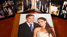 Leather and Photo Cover Wedding Albums | BrideBox