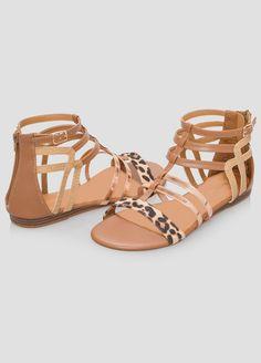11bf889dfde19 Animal Gladiator Sandal - Wide Width Animal Gladiator Sandal - Wide Width  Gladiator Sandals