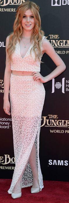 Katherine McNamara – Disney's 'The Jungle Book' Premiere in Hollywood 4/4/2016