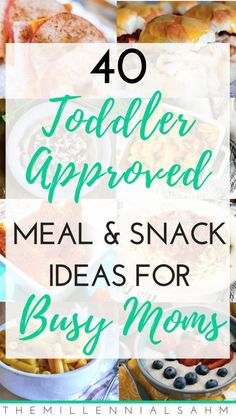 Toddler meals 233553930663179917 - As a busy mom, mealtime can be stressful – especially if you have toddlers. Here are over 40 toddler meal ideas for busy moms that toddlers will love! Source by b_lengenfelder Healthy Toddler Meals, Toddler Lunches, Toddler Food, Food For Toddlers, Healthy Kids, Toddler Dinners, Dinner Ideas For Toddlers, Recipes For Toddlers, Easy Toddler Snacks