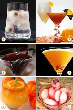 More Halloween cocktails, cuz you know it's the best part of the party! Halloween Cocktails, Holiday Drinks, Party Drinks, Holiday Treats, Fun Drinks, Yummy Drinks, Holiday Fun, Holiday Recipes, Beverages