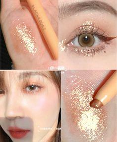 Soft Eye Makeup, Peach Makeup, Asian Eye Makeup, Skin Makeup, Natural Makeup, Beauty Makeup, Kawaii Makeup, Cute Makeup, Pretty Makeup