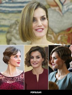 Photographic Evidence That Queen Letizia's Bob Is the Most Versatile Royal Haircut