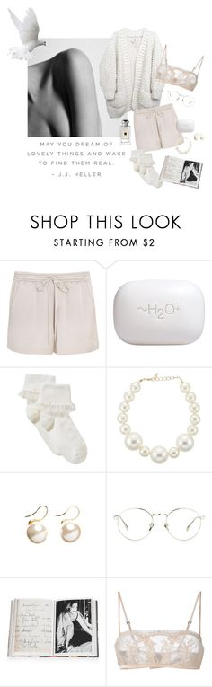 """""""May you dream"""" by tasteofbliss ❤ liked on Polyvore featuring Chloé, H2O+, John Lewis, Kenneth Jay Lane, Witchery, Linda Farrow, Assouline Publishing, La Perla and Jo Malone"""