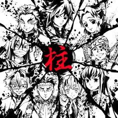 HD wallpaper: Anime, Demon Slayer: Kimetsu no Yaiba, Giyuu Tomioka, Gyomei Himejima Manga Anime, Anime Demon, Manga Art, Anime Art, Demon Slayer, Slayer Anime, Stray Dogs Anime, Artwork Images, Anime Love