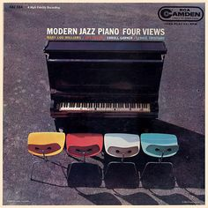 Modern Jazz Piano:Four Views LP, 1957