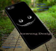 White Teeth Kitty iPhone 6s 6 6s  5c 5s Cases Samsung Galaxy s5 s6 Edge  NOTE 5 4 3 #cartoon #anime #alice DOP665