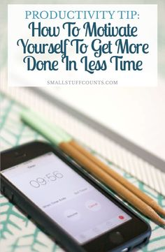 Genius productivity tip! Super simple but I can definitely see how it would help me stay focused on check off those to-dos. I'm going to try it out…