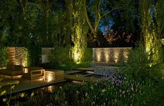 The dark side: This garden by Marcus Barnett employs subtle lighting and celebrates shadow...