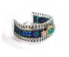 Bracelet Brésilien Bling Vert  A shopper sur www.autreshop.com !