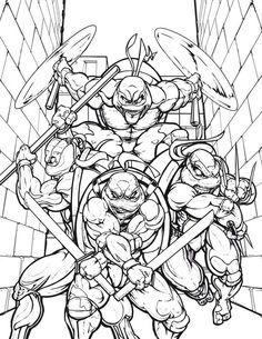 88 Best Ninja Turtles Coloring Pages Images Ninja Turtle Coloring