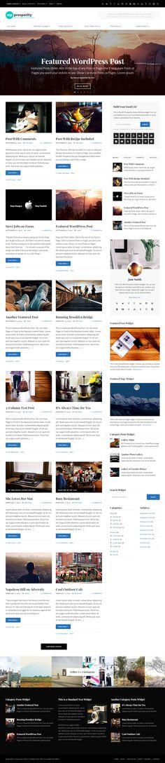 WP-Prosperity Premium WordPress Theme