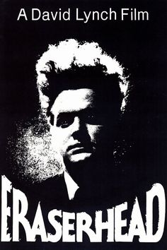 David Lynch Eraserhead Movie Reproduction Poster