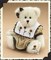 "Boyds Bears ""Petal P. Bearybloom""#904503 - 8"" Plush Bear -NWT-2006 -Retired"