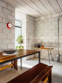 Image 2 of 59 from gallery of Vila Matilde House / Terra e Tuma Arquitetos Associados. Photograph by Pedro Kok House Design, Decor, House, House Plans With Photos, Home, Industrial Interiors, Concrete Houses, Diy House Plans, Home Decor