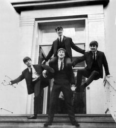 John (as usual) carring the band on his shoulders. :P #Beatles