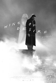 """movieposteroftheday: """" 2018 re-release poster for WINGS OF DESIRE (Wim Wenders, West Germany, Designer: Eric Skillman Poster source: Criterion The Greatest. Great Films, Good Movies, Bruno Ganz, Facebook Poster, 8k Tv, Wings Of Desire, The Criterion Collection, Alternative Movie Posters, Usa News"""