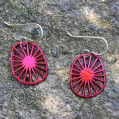 Daphne Olive Jewelry - Small Kimono earrings