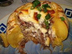 Minimoranga com carne de sol e queijo coalho