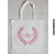 $10 Crest Tote. | CHECK OUT MORE IDEAS AT WEDDINGPINS.NET | #weddings #weddinggear #weddingshopping #shopping