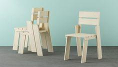 Landa chair by Silvia Cenal