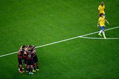 Fotos | Alemania vs Brasil , Semifinales. (Parte 2)