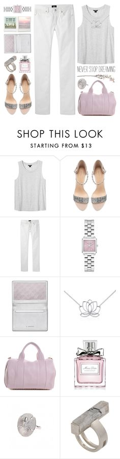 """!!!"" by yexyka ❤ liked on Polyvore featuring Monki, Zara, A.P.C., Swarovski, Blue Nile, Alexander Wang, Christian Dior, Kelly Wearstler and topset"
