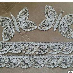 Baby Knitting Patterns, Crochet Patterns, Crochet Butterfly, Viking Tattoo Design, Sunflower Tattoo Design, Crochet Borders, Yarn Shop, Moda Emo, Piercings