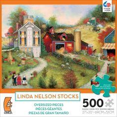 500 Piece Oversized Puzzle Bittersweet Farm