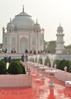 Taj Mahal Bangladesh,is a copy of the original Taj Mahal  in Sonargaon