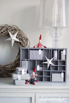 Liebesbotschaft: Adventskalender No. 4 - Wichtel-Weihnachts-Werkstatt