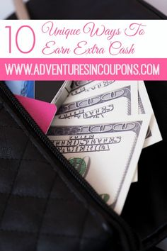 Can you use a bit of extra cash in your budget? Who couldn't! These 10 unique ways to earn extra cash will have you filling up the piggy bank in no time! No surveys here, just tried and true methods that are easily overlooked!