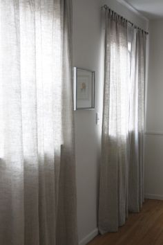 DIY Linen Curtains at my Place