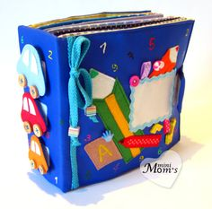 Children's Quiet Book Busy Book Eco friendly от MiniMoms на Etsy, $225.00