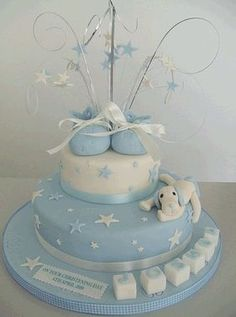 christening cakes for boys Baby Boy Cakes, Cakes For Boys, Baby Shower Cakes, Fancy Cakes, Cute Cakes, Christening Cake Boy, Baptism Cakes, Boy Baptism, Baptism Ideas