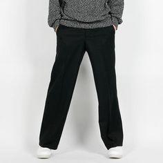 Remember Click Wide Leg Cotton Pants BLACK S M L Korean Wear #RememberClick #CasualPants