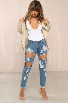 Nice Legs Jeans - Denim Jeans Denim, Skinny Jeans, Nice Legs, Fashion Heels, Fashion Forward, What To Wear, Clothes For Women, Chic, Pants