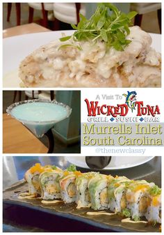 Looking for the freshest seafood in and around Myrtle Beach, SC? Be sure to check out The Wicked Tuna just down the road at the Murrells Inlet Marsh Walk. They have a huge