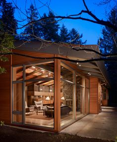 1950s Lake Forest Park Residence Renovation in Seatle area, WA by Finne Architects