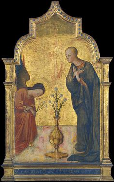 SASSETTA - Annunciation (1450 Siena) by petrus.agricola, via Flickr