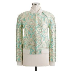 J.Crew Collection gilded brocade bomber jacket. For my purposes, this ain't Baroque and thus should be fixed