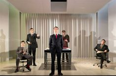 Production Photos | American Psycho A new musical thriller | Almeida Theatre, London