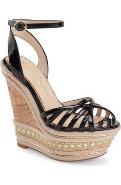 Main Image - Jessica Simpson 'Aimms' Studded Platform Wedge Sandal (Women)